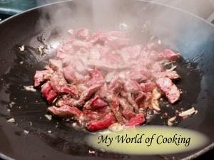 Rindfleisch dazu ...
