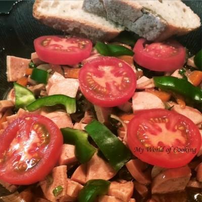 R.s sommerlich leichter Spezial-Wurst-Salat