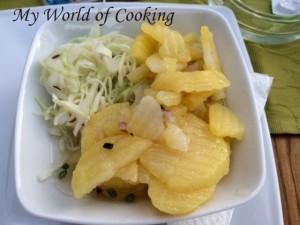 Kartoffel-Kraut-Salat