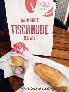 Matjes- & Backfischbrötchen