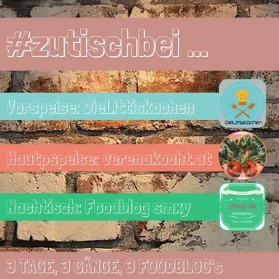 Foodblog Event #zutischbei …