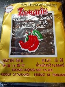 Tamarin gepresst