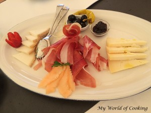Prosciutto - Käse - Platte