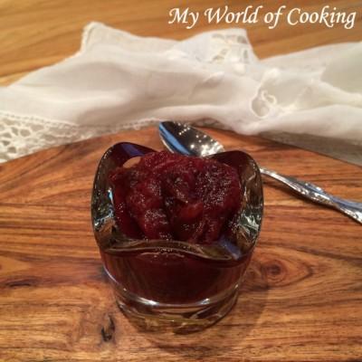 Beschwipste Feigen Marmelade