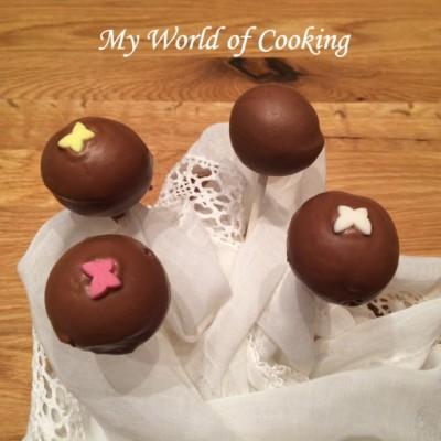 Nutella Cake Pops in Vollmilchschokolade