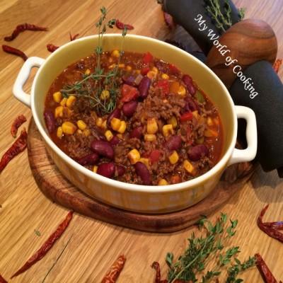 Chili con Carne vom Bio-Rind