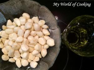 Knoblauch-Olivenöl-Paste nach M.