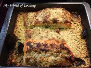 Lachs mit Käse-Kräuter-Kruste