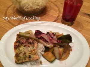 Lachs mit Fenchel-Gemüse