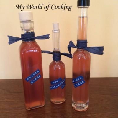 Feigenlikör – Teil 2 (Abfüllung in Flaschen)