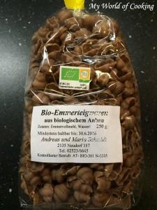 Emmer-Nudeln vom Bio-Bauern