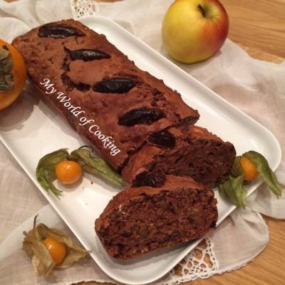 veganes Apfel-Dattel-Brot