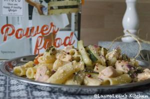 LauraLean'sKitchen - Nudeln mit Lachs
