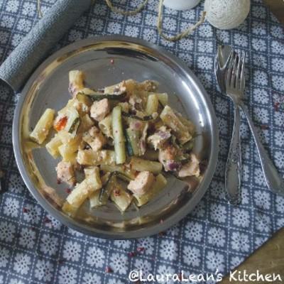 """Pasta mit Lachs á la Rens Kroes – Gastblog """"LauraLean's Kitchen"""""""
