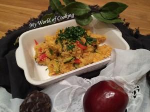 Huhn mit Gemüse & Couscous