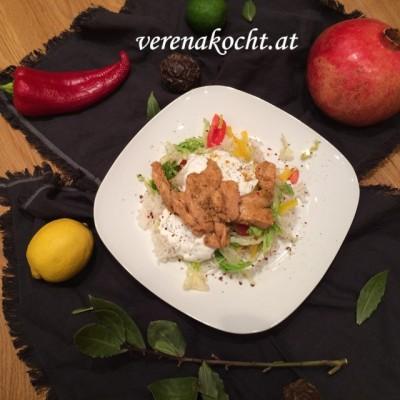 Home-made Döner vom Huhn (oder) Spezial-Döner á la Ahmet Kocht