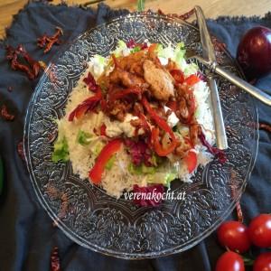 "Kebab vom Huhn (oder) R. kocht! Kebab nach Art ""Ahmet kocht!"""