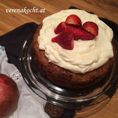 Naked Cake – Karotten-Ananas Torte nach Haya Molcho