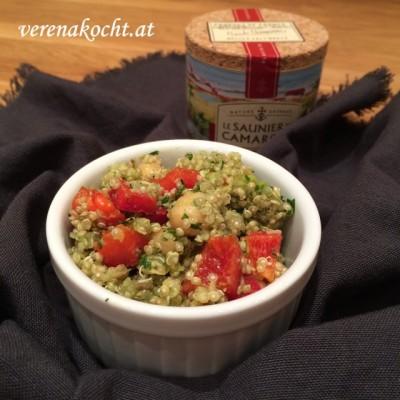 Spicy Kichererbsen-Quinoa Salat (oder) – Mein abendlicher Besuch im Morgenland