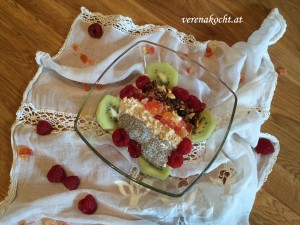 exotische Frühstücksbowl