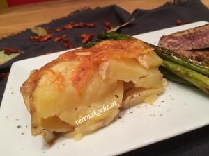 easy Kartoffelgratin mit Bergkäse
