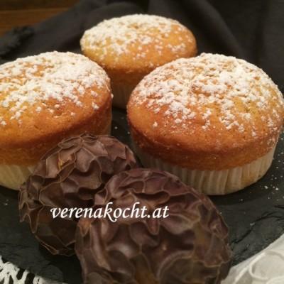 Dinkel-Orangen-Muffins (oder) Wie lenke ich von einem anstrengenden Tag ab