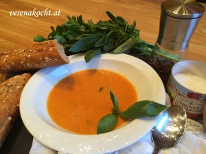 Tomaten-Creme-Suppe mit dem Thermomix TM5