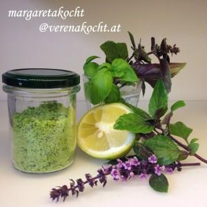 Zitronen-Basilikum-Salz