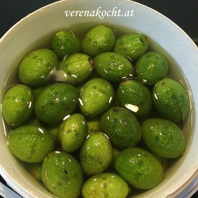Schwarze Nüsse (oder) Wie aus grünen schwarze Nüsse werden