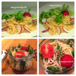 zitroniger Nudelsalat mit Radieschen