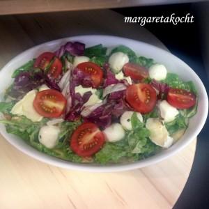 Spinat Tarte mit Tomaten & Mozzarella