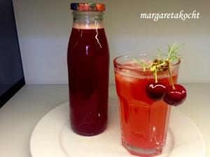 köstlicher Kirschen Sirup by Margareta