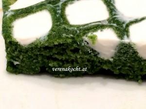 Spinat-Parmesan-Waffel