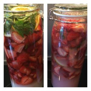 fruchtiger Erdbeer Likör