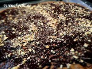 Schoko-Kuchen Brownie-Style