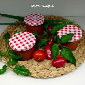 Paradeis-Sauce (Tomatensauce)