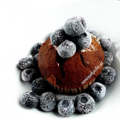 schnelle Bananen-Schoko-Muffins mit Nutella (oder) Das schnelle Ende des Muffin-Vorrats