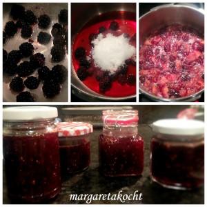 fruchtige Feigen-Brombeer-Marmelade