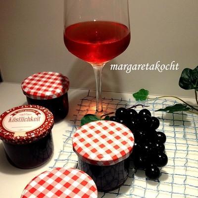 Weintraubengelee vom Uhudler (oder) Inspired by Hillinger