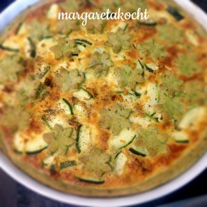 Spinat-Zucchini-Tarte