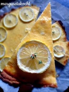 leichte Zitronentarte