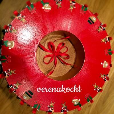 home-made Rondell Adventkalender (oder) Alle Jahre wieder …