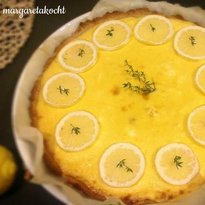 schnelle & leichte Zitronentarte (oder) Süßes – Saures – Exitus