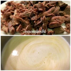 Gänseklein & gebundene Suppe