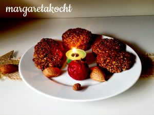 gesunde Frühstückskekse mit Hanfsamen