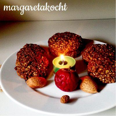 gesunde Frühstückskekse mit Hanfsamen (oder) Snooze-Taste ruft nach Cookies