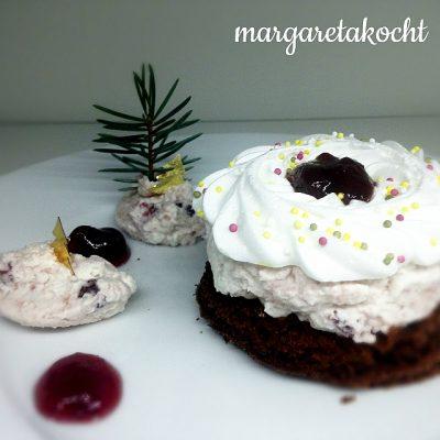Himmlisches Schoko-Baiser Dessert (oder) easy Weihnachtsdessert für alle Last-Minutes