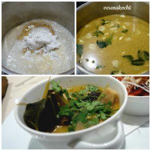 Zubereitung Suppe