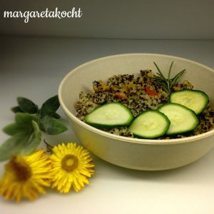 Quinoa Lunch Bowl mit Kürbis & Zucchini