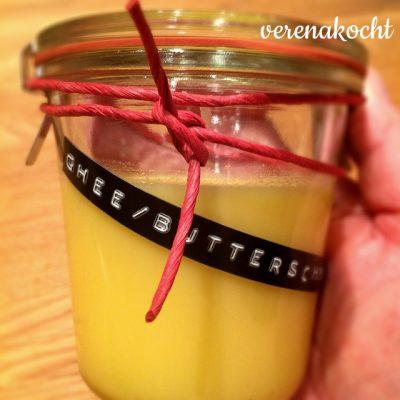 home-made Ghee oder Butterschmalz (und) inspiriert durch Ayurveda